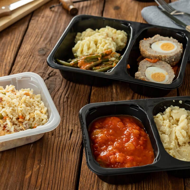 Opakowania jednorazowe w gastronomii